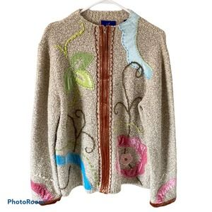 j.h. collectibles Zip Up Sweater